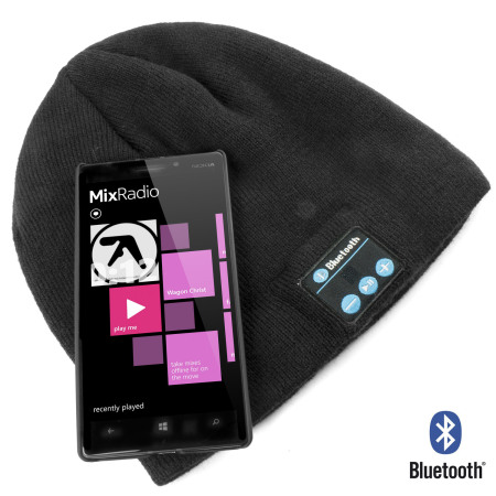 Bonnet audio Bluetooth Musique - Noir