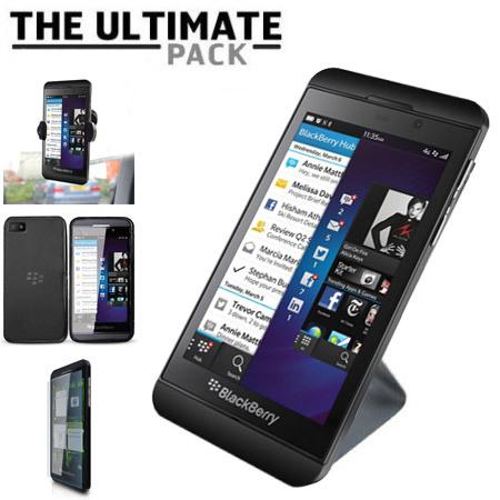Pack accessoires BlackBerry Z10 Ultimate - Noir