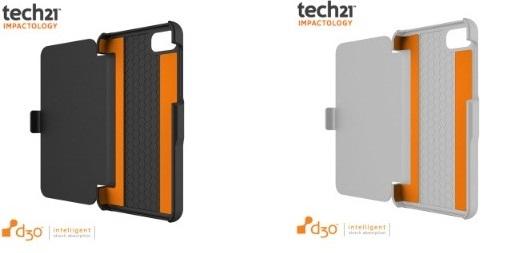 Coque Blackberry Z10 Tech21 Impact Snap avec rabat intégré