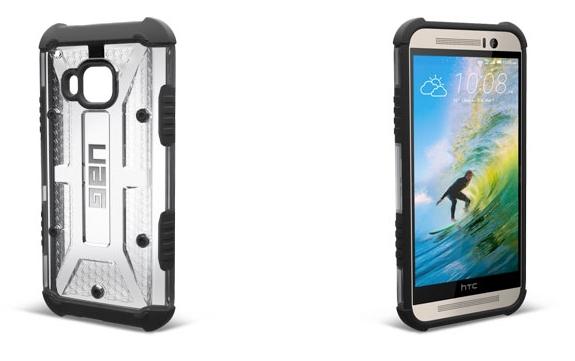 Coque HTC One M9 UAG Ash Protective - transparente