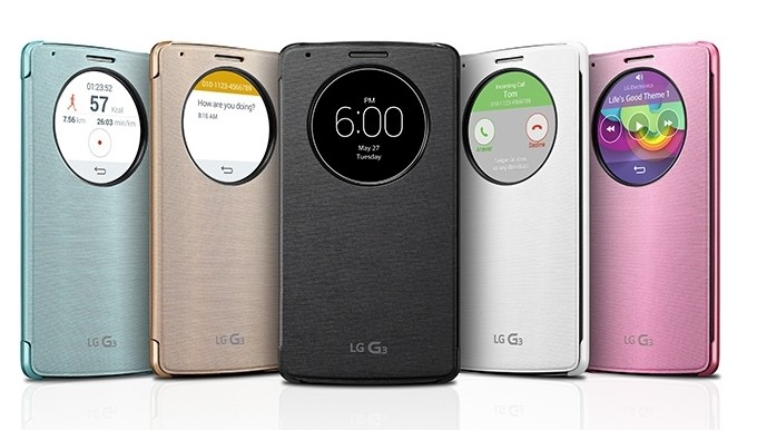 Housse QuickCircle LG G3