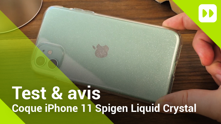 Coque Spigen Liquid Crystal iPhone 11
