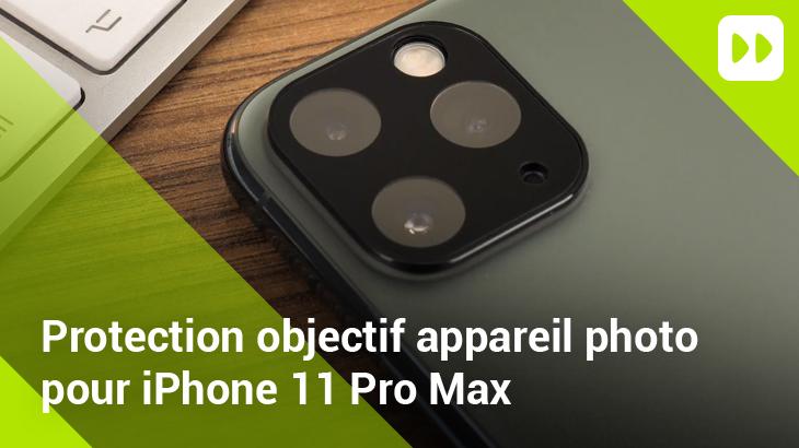 Protection caméra Olixar pour iPhone 11 Pro Max