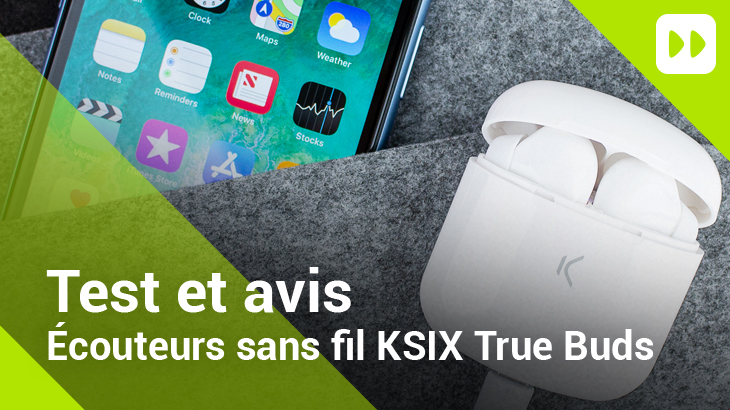 Écouteurs Bluetooth KSIX True Buds