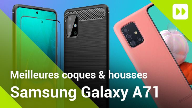 Meilleures coques Galaxy A71