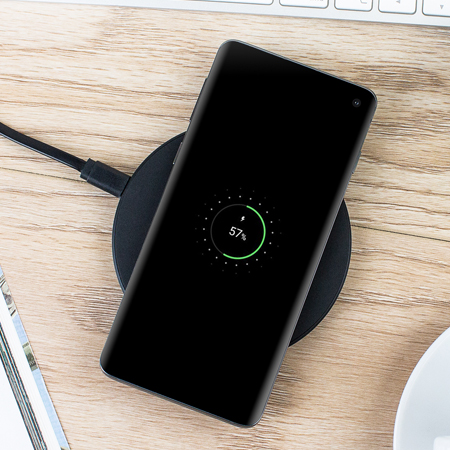 Chargeur sans fil rapide Olixar 10W Ultra mince